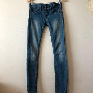 Free Prople Low Rise Skinny Jeans